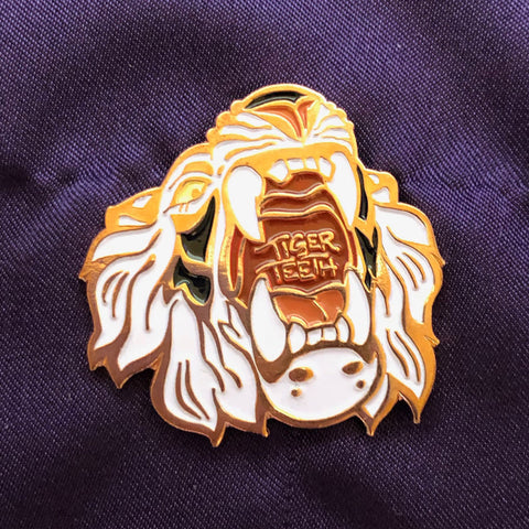 Tiger Teeth Pin