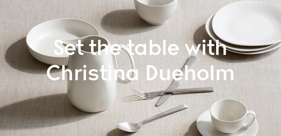 Nordisches Table Setting Tutorial mit Broste Copenhagen