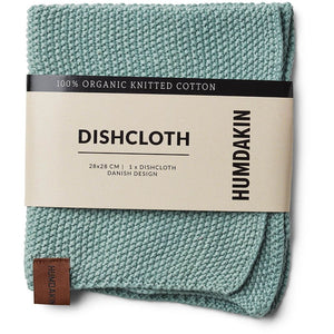 Humdakin Stricktuch in Dusty Green - Bio Baumwolle