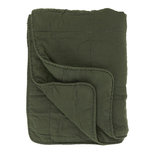 IB Laursen Quilt in Forest Green