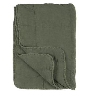 IB Laursen Quilt dusty chalk green