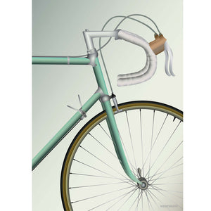 Poster Racing Bicycle 50 x 70
