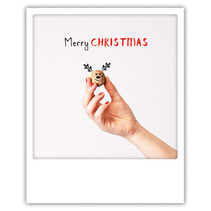 Merry Christmas Nut - Postkarte von Pickmotion