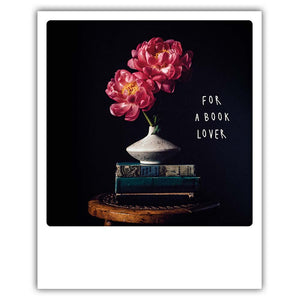For a book lover - Postkarte von Pickmotion
