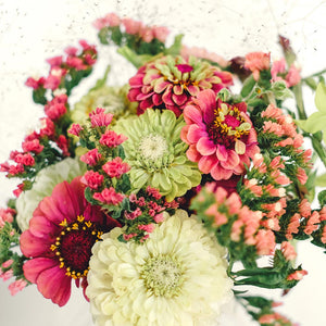 Jora Dahl - Wild Bouquets Zinnia Collection