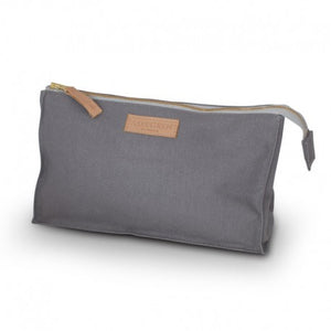 Kulturtasche – Canvas Dark Grey, small
