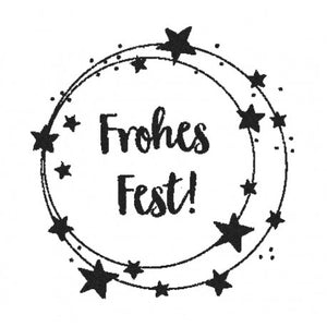 Stempel Frohes Fest