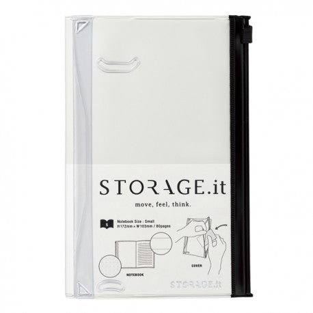 STORAGE.IT Notebook weiß, small