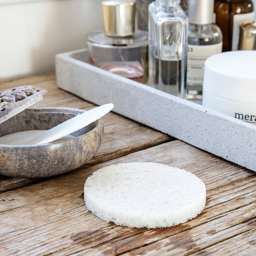 Meraki - Facial Cleaning Sponge Clean, 5er Set