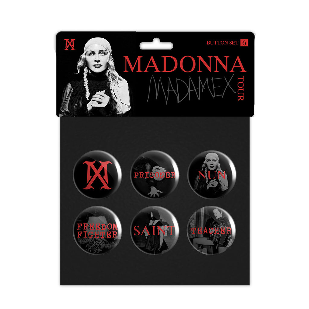Madame X Button Pack