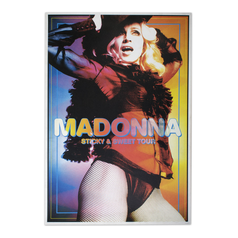 Madonna Sticky & Sweet Lithograph. Limited Collector's Edition 1/500