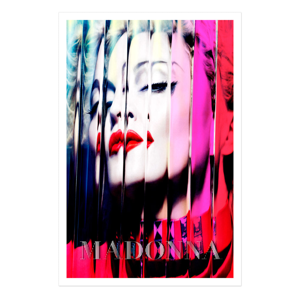 Official MDNA Album Cover Lithograph. Limited Collector's Edition 1/1000