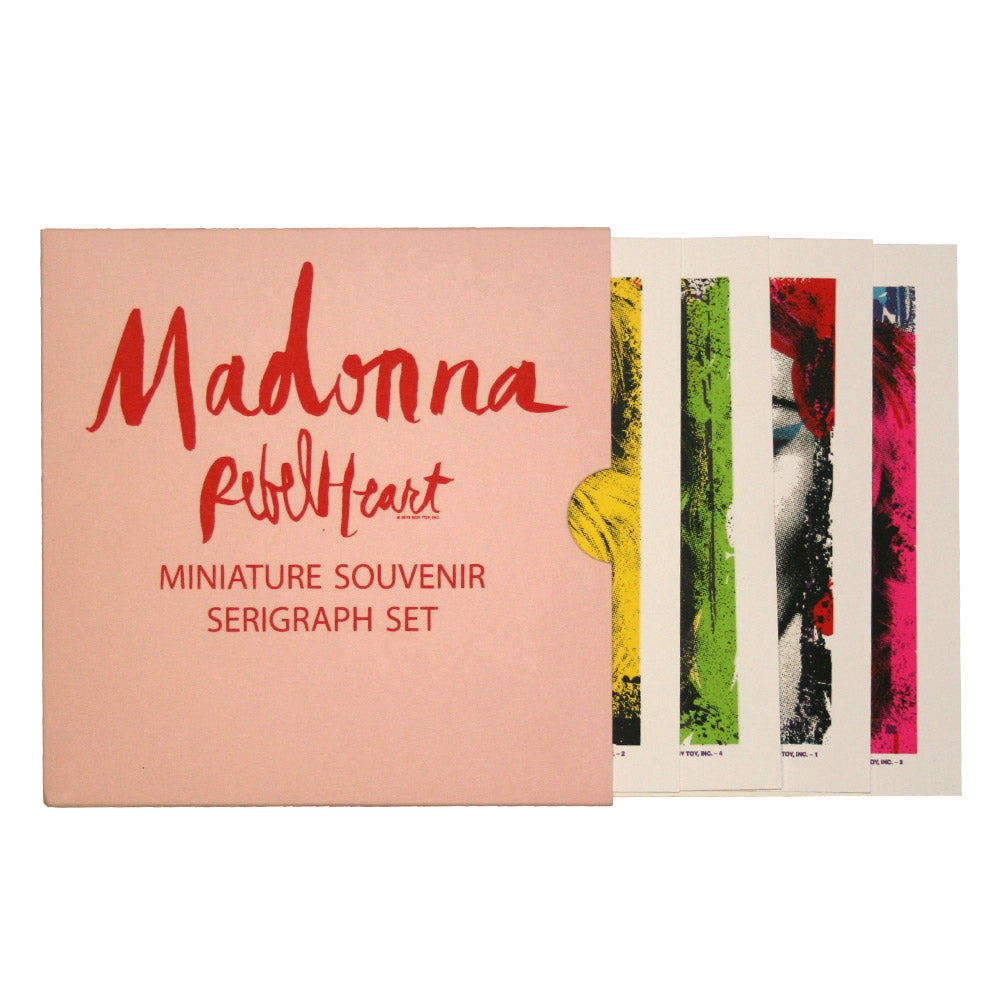 Rebel Heart Pop Art Miniature Souvenir Set