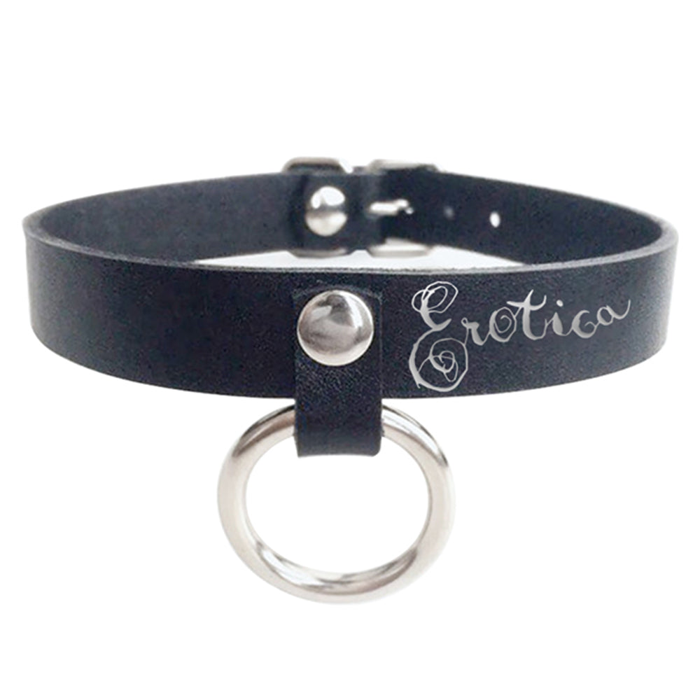 Erotica O Ring Choker Necklace