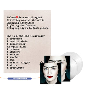 Madonna Madame X Web Exclusive Vinyl, CD & Limited Edition Lithograph