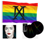 WEB EXCLUSIVE! Madame X PRIDE Rainbow Vinyl & Flag