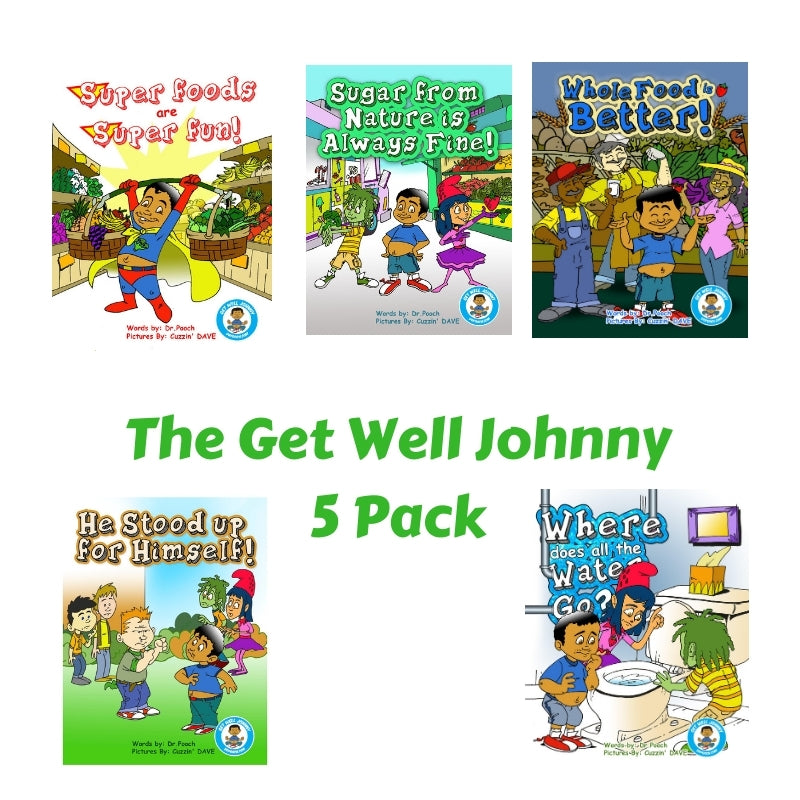 Get Well Johnny 5 Book Set