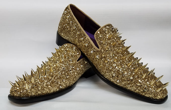 Men's Spiked Fashion Loafers