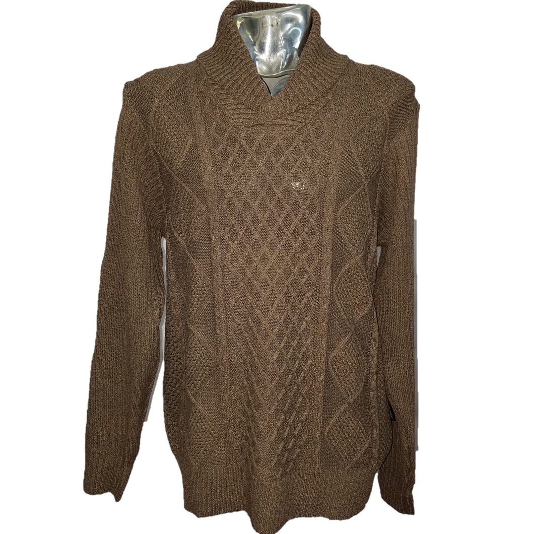 Akademiks Cowl Neck Sweater (Brown) DKAK1822