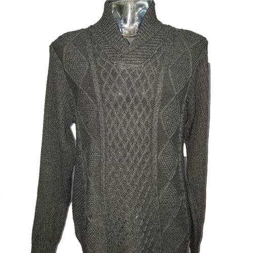 Akademiks Cowl Neck Sweater (Grey) DKAK1822