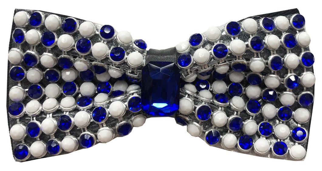 Crystal Bow Tie (Royal) DKBTG107