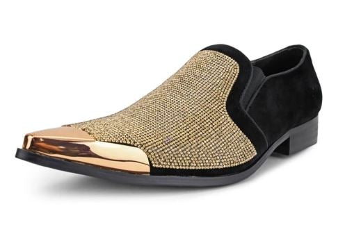 Fashion Formal Loafer (Gold) DKDEZY