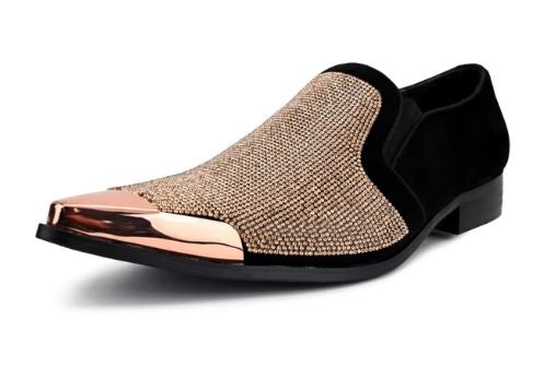 Fashion Formal Loafer (Rose Gold) DKDEZY