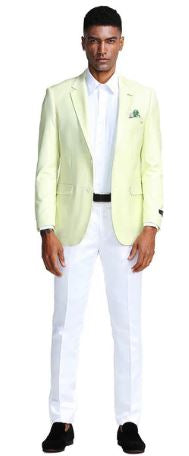 Tazio Slim Fit Sport Coat (Melon)