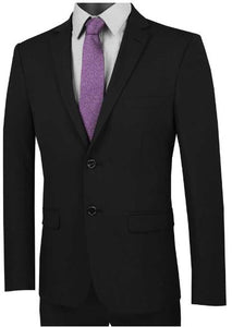 Ultra Slim Fit Suit (Black) dkusdx-1