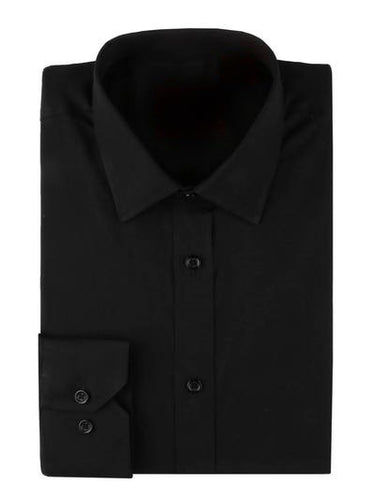 Slim Fit Dress Shirt (Black) DKTSS-1