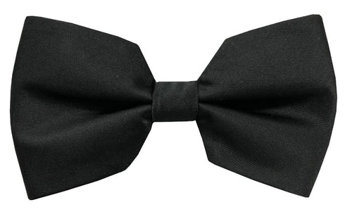 Solid Cube Bow Tie (Black) DKCUBEBOW