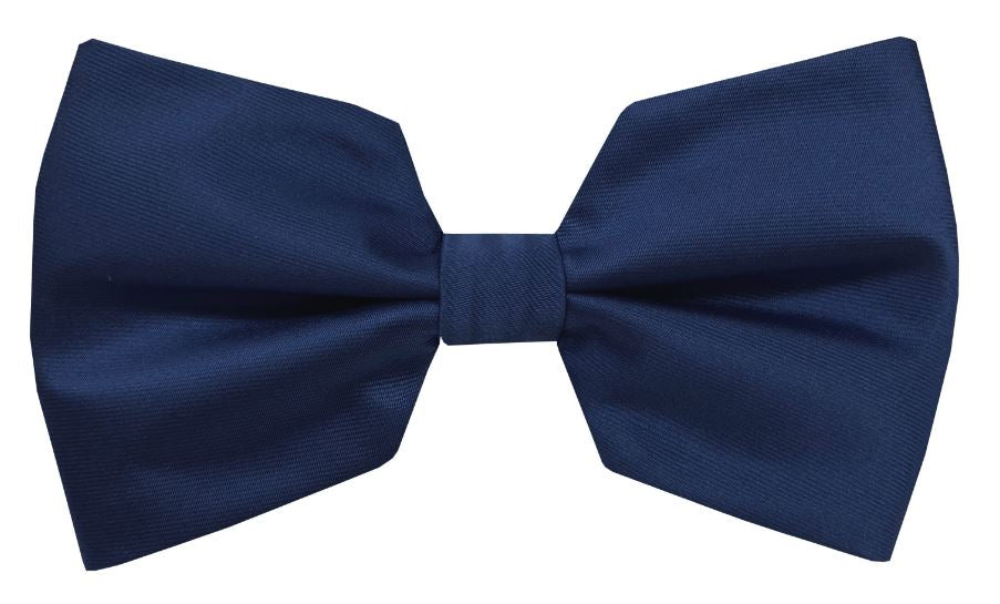 Solid Cube Bow Tie (Navy) DKCUBEBOW