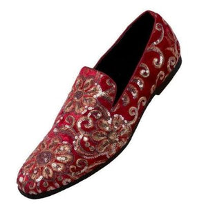 Fashion Formal Loafer (Red) DKFAB
