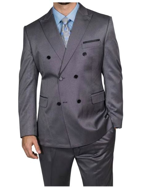 Steve Harvey Reserve Collection Suit (Grey) DK2018850