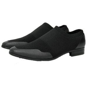 Tayno Knit Slip On Loafer (Black) DKJHON