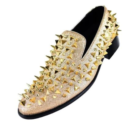 Fashion Formal Loafer (Gold) DKMESA