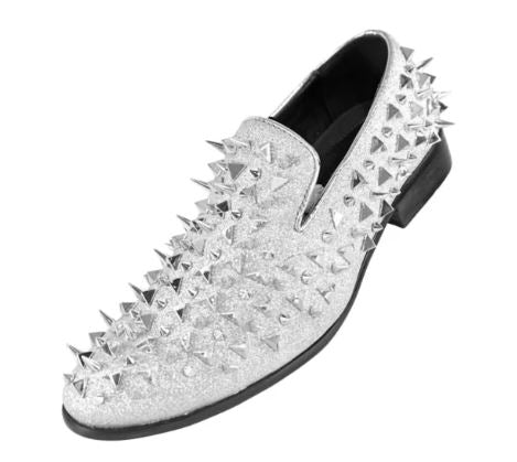 Fashion Formal Loafer (Silver) DKMESA