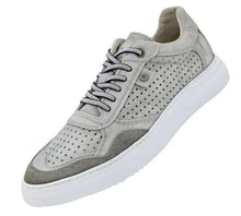 Load image into Gallery viewer, Casual Lace up Sneaker (Grey) DKROCH