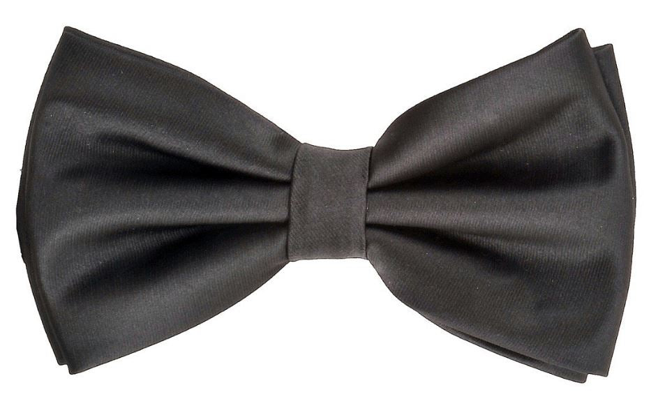 Solid bow tie set (Black) DKBQBT