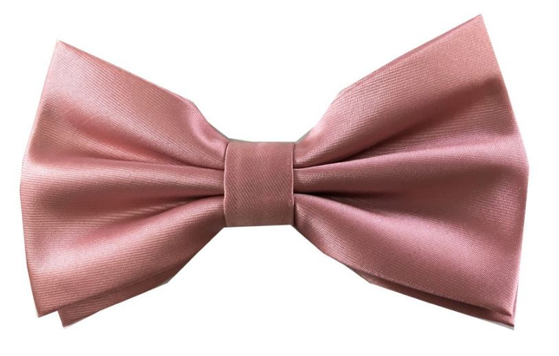 Solid bow tie set (Dusty Rose) DKBQBT