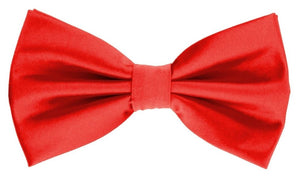 Solid bow tie set (Red) DKBQBT