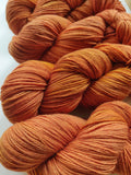 Brunorange sustainable merino fingering