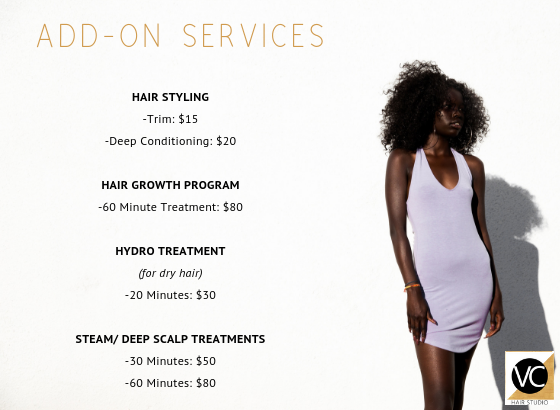 VC Hair Studio Services