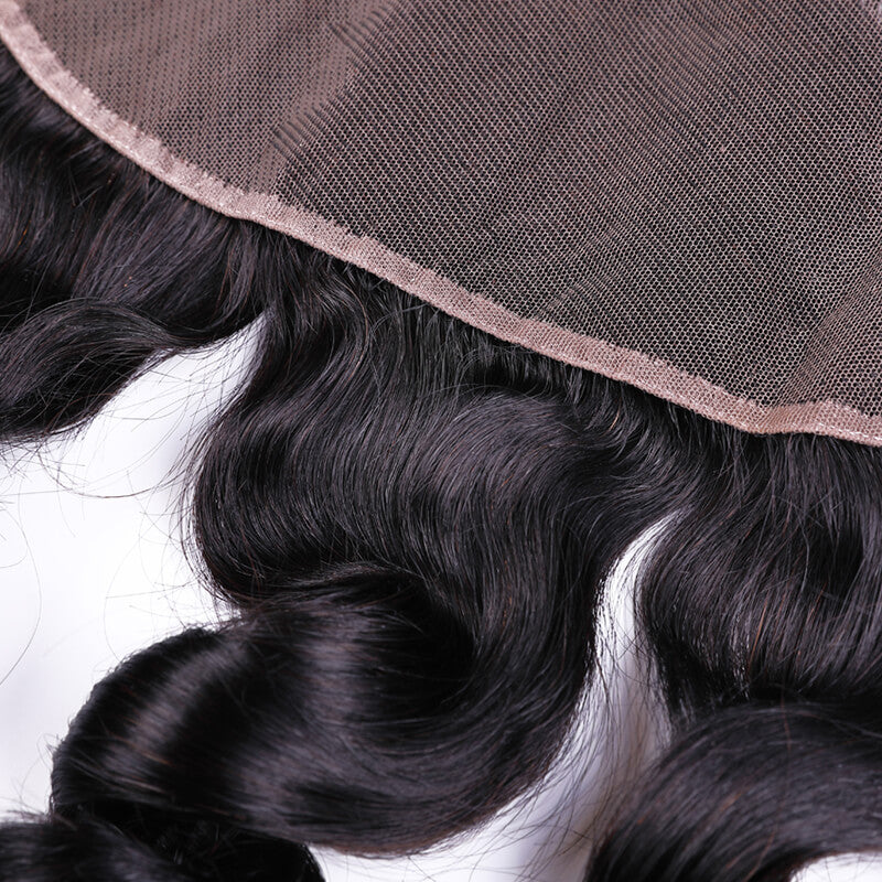 "Brazilian Loose Wave Lace Frontal 13""x6"""