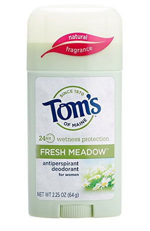Tom's of Maine Women's Antiperspirant Deodorant Stick, Fresh Meadow, 2 Count: Beauty