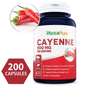Best Cayenne Pepper 900mg