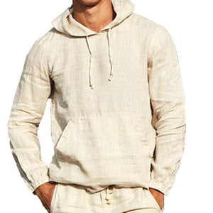 3XL Long Sleeve Mens Pullover
