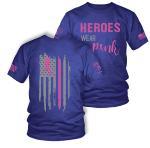 Heroes Wear Pink | Breast Cancer Awareness