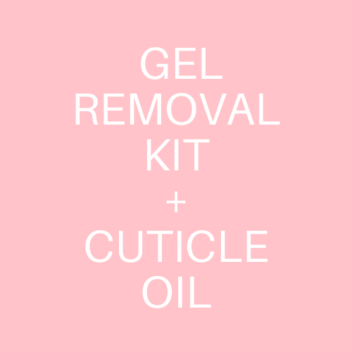 Gel Removal Kit w/ Cuticle Oil