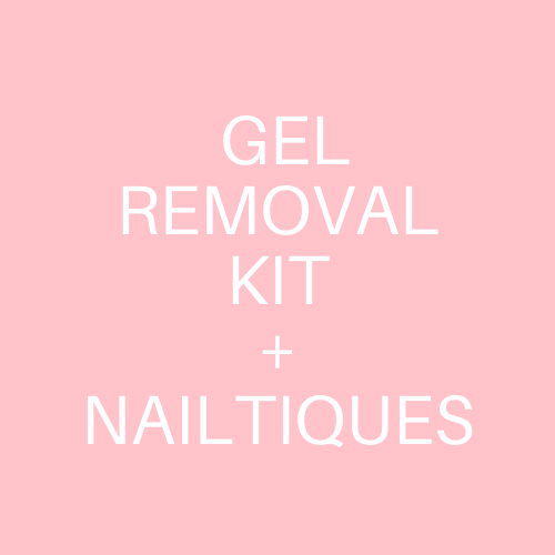 Gel Removal Kit w/ Nailtiques